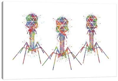Bacteriophage III Canvas Art Print
