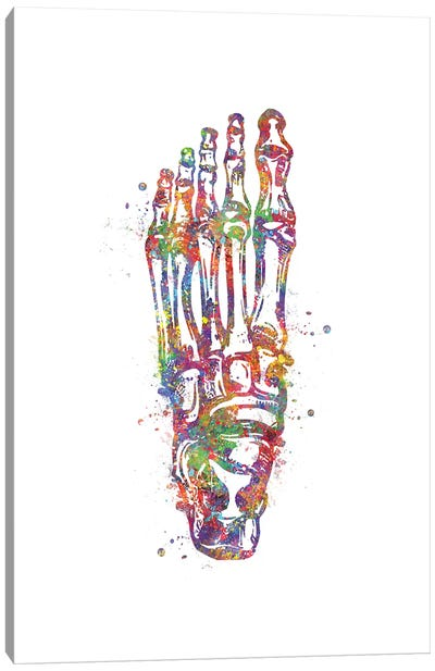 Joint Foot Canvas Art Print