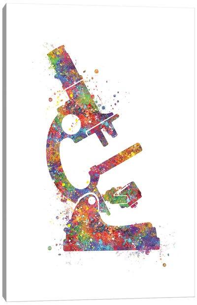 Microscope Canvas Art Print