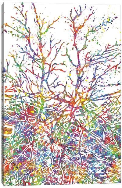Neural Network Canvas Art Print