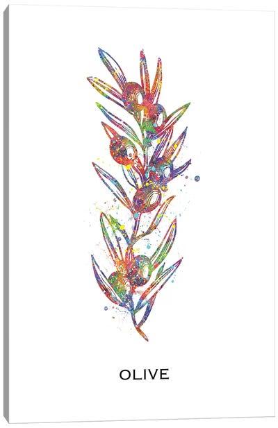 Olive Canvas Art Print