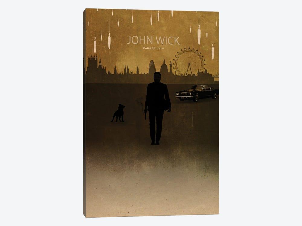 John Wick Parabellum by Gab Fernando 1-piece Canvas Art Print