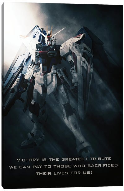 Gundam Wing Canvas Art Print