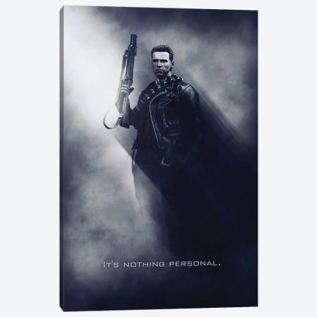 Terminator Tagline Canvas Print #GFN161} by Gab Fernando Canvas Art Print