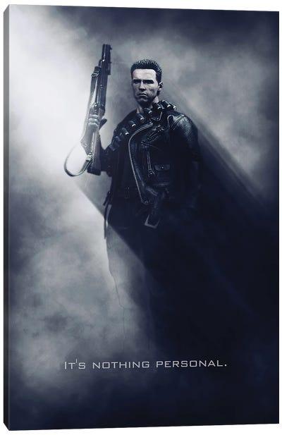 Terminator Tagline Canvas Art Print