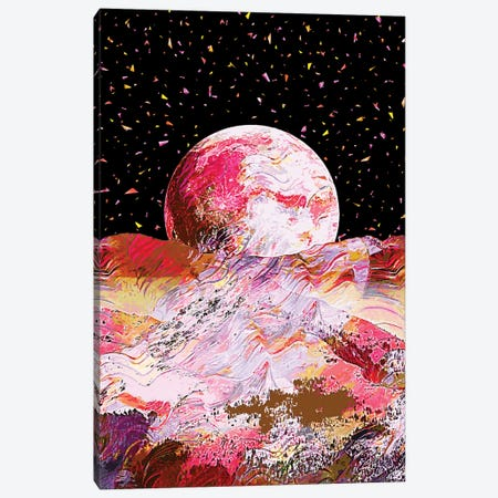 Full Moon II Canvas Print #GFN183} by Gab Fernando Art Print
