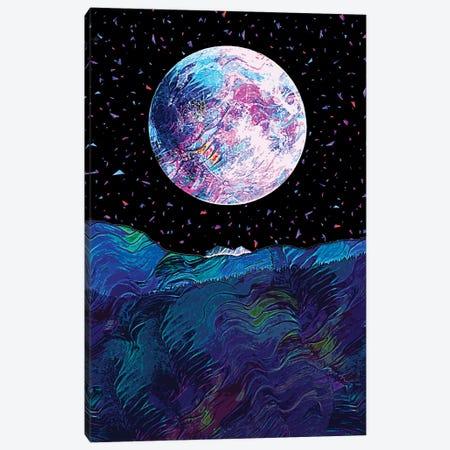 Full Moon VI Canvas Print #GFN187} by Gab Fernando Canvas Wall Art