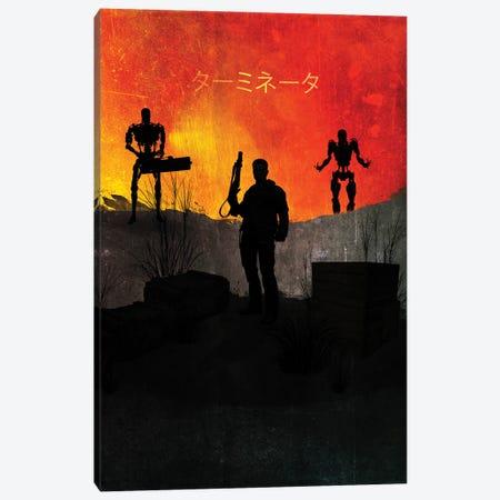 Terminator Canvas Print #GFN18} by Gab Fernando Canvas Wall Art