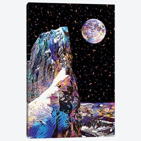 Full Moon X Canvas Print #GFN191} by Gab Fernando Canvas Art