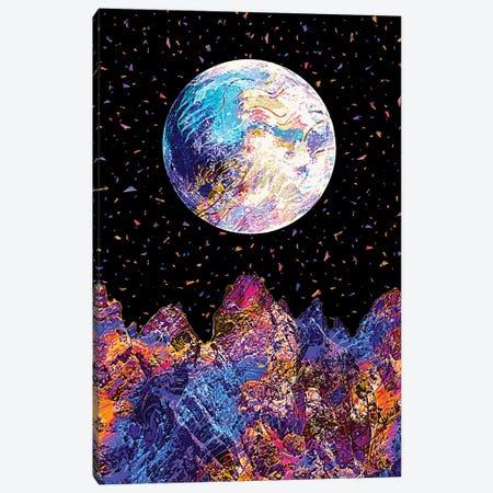 Full Moon XVIII Canvas Print #GFN199} by Gab Fernando Canvas Artwork