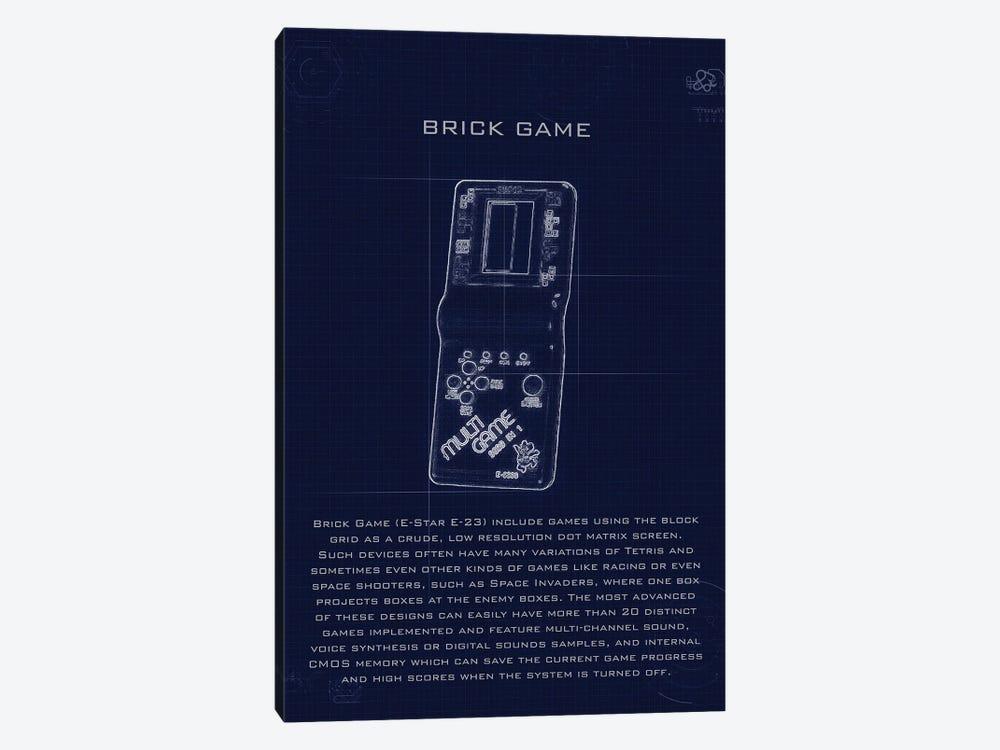 Brickgame by Gab Fernando 1-piece Canvas Print