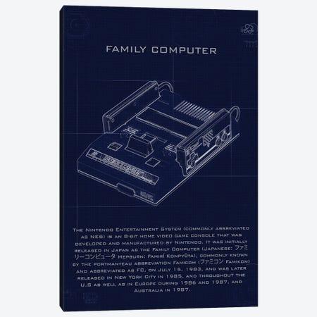 Family Computer Canvas Print #GFN204} by Gab Fernando Canvas Print