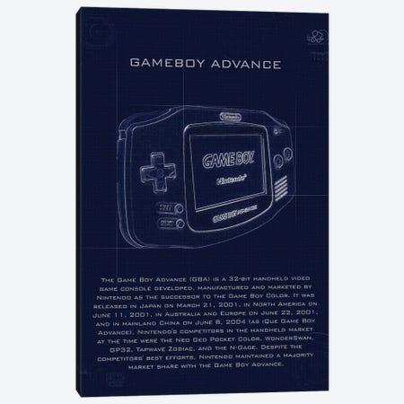Gameboy Advance Canvas Print #GFN205} by Gab Fernando Canvas Print