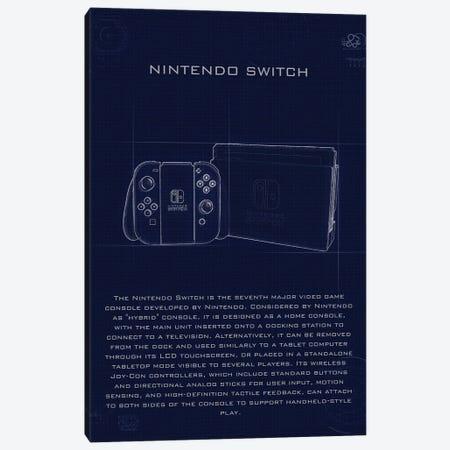 Nintendo Switch Canvas Print #GFN208} by Gab Fernando Canvas Wall Art