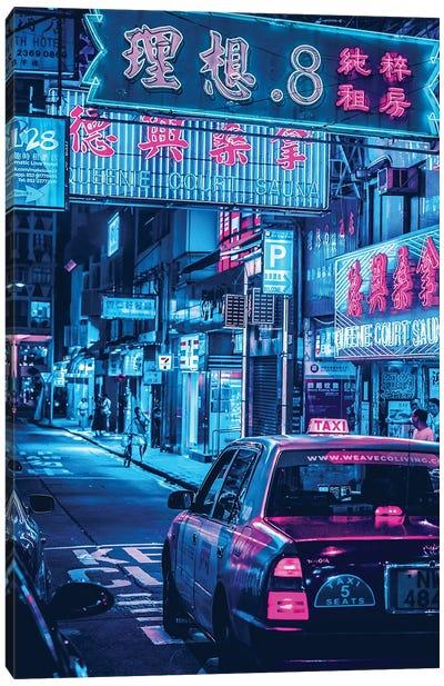 Tokyo Street Canvas Art Print