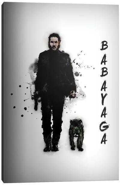 Baba Yaga Canvas Art Print