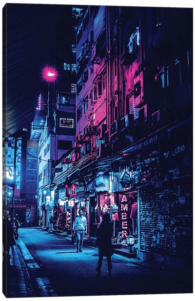 Tokyo Street II Canvas Art Print