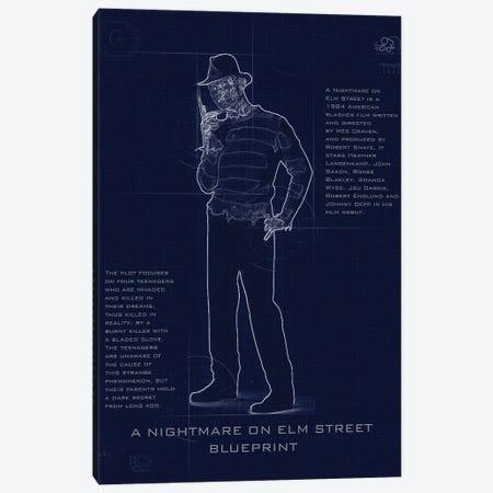 Freddy Blueprint Canvas Print #GFN252} by Gab Fernando Canvas Print