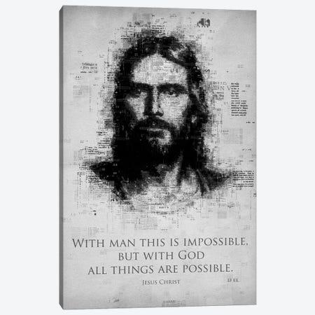 Jesus Christ Canvas Print #GFN261} by Gab Fernando Canvas Wall Art