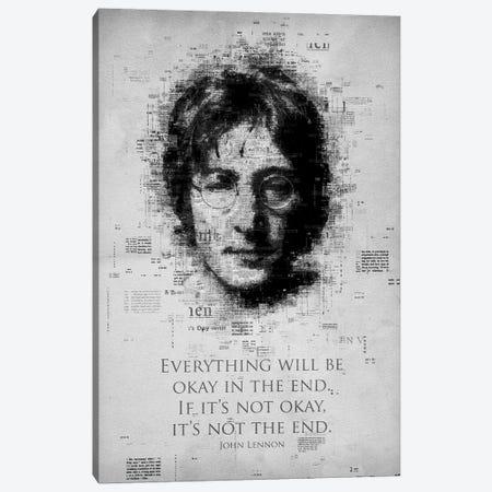 John Lennon Canvas Print #GFN263} by Gab Fernando Canvas Art