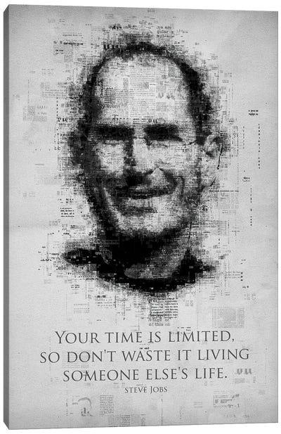 Steve Jobs Canvas Art Print
