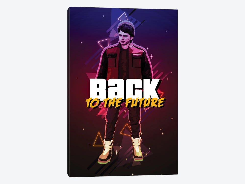 Back To The Future Marty Retro by Gab Fernando 1-piece Art Print