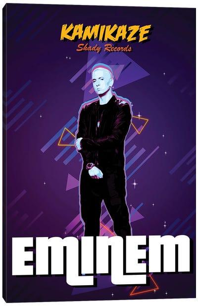 Eminem Retro Canvas Art Print