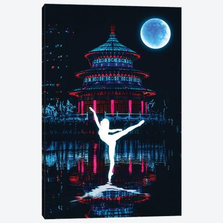 Night Dance Canvas Print #GFN35} by Gab Fernando Art Print
