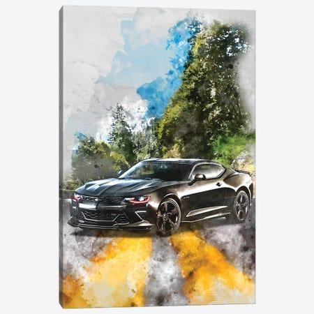 Chevrolet Camaro Canvas Print #GFN367} by Gab Fernando Canvas Art