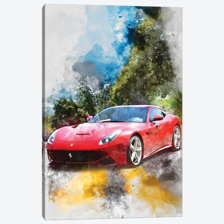 Ferrari 12 Berlinetta Canvas Print #GFN369} by Gab Fernando Canvas Art Print