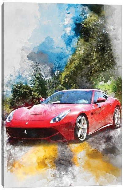 Ferrari 12 Berlinetta Canvas Art Print