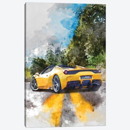 Ferrari 458 Speciale Apert Canvas Print #GFN370} by Gab Fernando Canvas Wall Art
