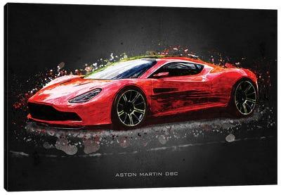 Aston Martin DBC Canvas Art Print