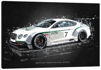 Bentley Continental GT3-R Canvas Art Print