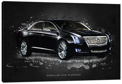 Cadillac XTS Platinum Canvas Art Print