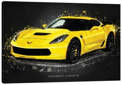 Chevrolet Corvette Acrylic Canvas Art Print