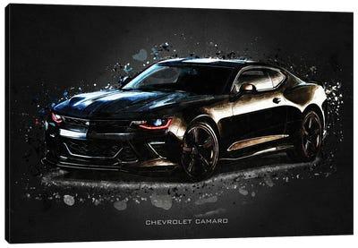 Chevrolet Camaro Acrylic Canvas Art Print