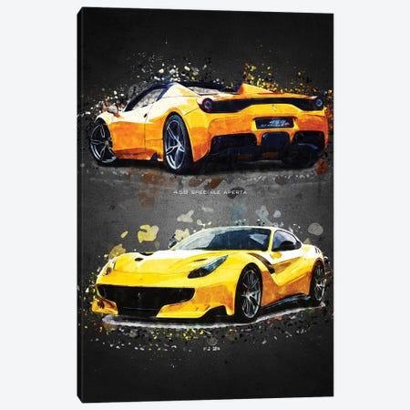 Ferrari 2A Canvas Print #GFN387} by Gab Fernando Canvas Wall Art