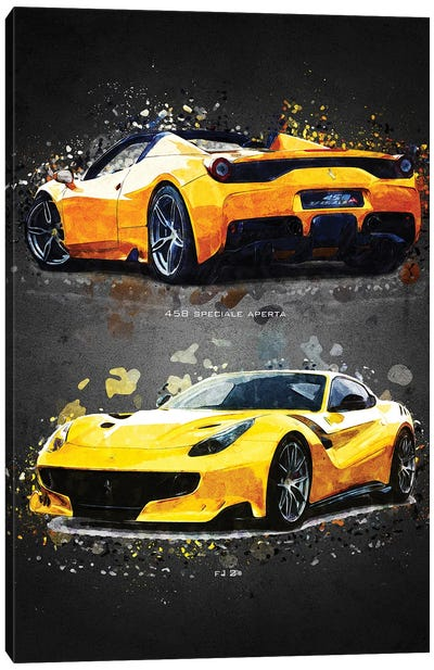 Ferrari 2A Canvas Art Print