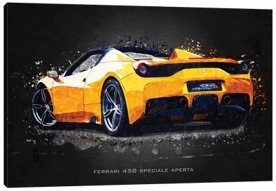 Ferrari 458 Speciale Aperta Canvas Art Print