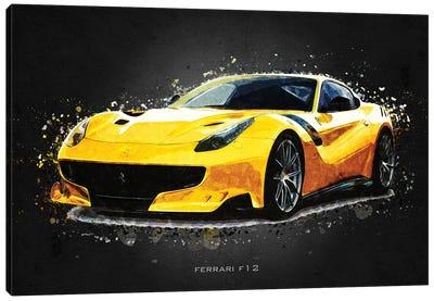 Ferrari F12 Canvas Art Print