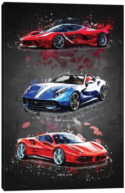 Ferrari1 Canvas Art Print