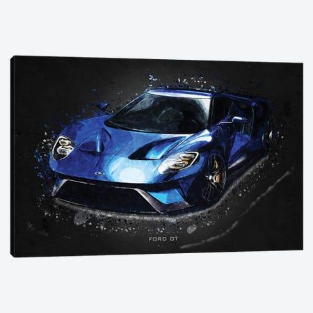 Ford GT Canvas Print #GFN391} by Gab Fernando Canvas Art