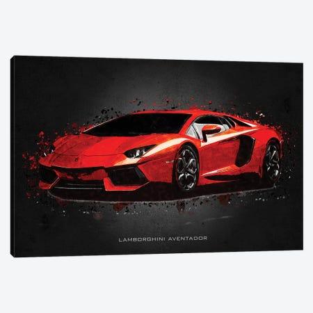 Lamborghini Aventador Canvas Print #GFN395} by Gab Fernando Canvas Art Print