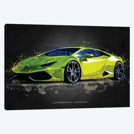Lamborghini Huracan Canvas Print #GFN397} by Gab Fernando Canvas Print