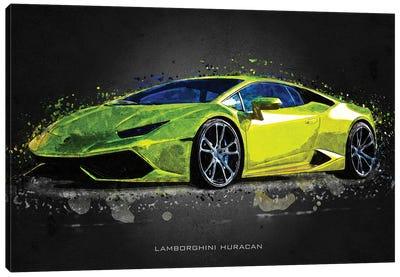 Lamborghini Huracan Canvas Art Print