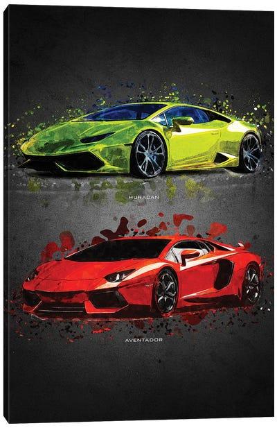 Lamborghini II Canvas Art Print