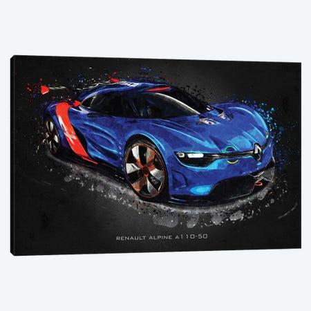 Renault Alpine A110-50 Canvas Print #GFN407} by Gab Fernando Canvas Print