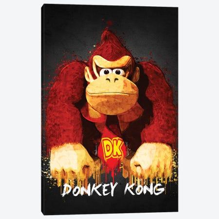 Donkey Kong Canvas Print #GFN436} by Gab Fernando Canvas Artwork