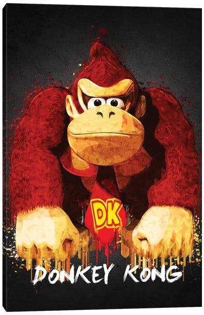 Donkey Kong Canvas Art Print
